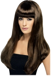 BABELICIOUS WIG - BROWN (ADULT) -  BABELICIOUS
