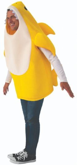 BABY SHARK -  BABY SHARK COSTUME (ADULT)