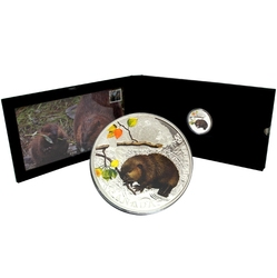 BABY WILDLIFE -  THE BEAVER -  2014 CANADIAN COINS