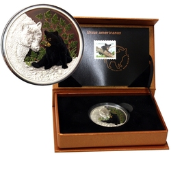 BABY WILDLIFE -  THE BLACK BEAR -  2015 CANADIAN COINS