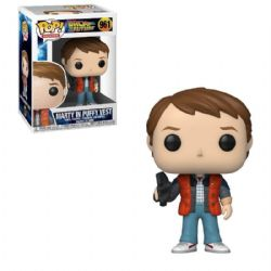 BACK TO THE FUTURE -  POP! VINYL FIGURE OF MARTY MCFLY IN PUFFY VEST (4 INCH) 961