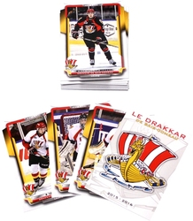 BAIE-COMEAU DRAKKAR -  (24 CARDS) -  2015-16