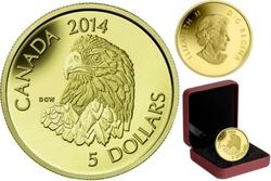 BALD EAGLE -  2014 CANADIAN COINS