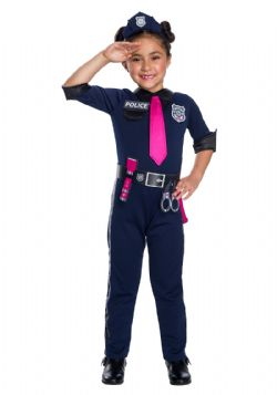 BARBIE -  BARBIE POLICE OFFICER COSTUME (CHILD) -  BARBIE
