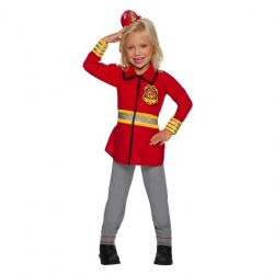 BARBIE -  FIREFIGHTER COSTUME (CHILD)