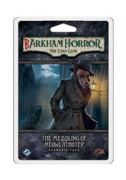 BARKHAM HORROR : THE CARD GAME -  THE MEDDLING OF MEOWLATHOTEP - SCENARIO PACK (ENGLISH)