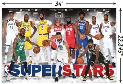 BASKETBALL -  SUPERSTARS 2019 - POSTER