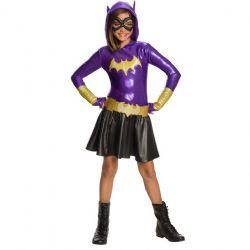 BATGIRL -  BATGIRL COSTUME (CHILD) -  SUPER HERO GIRLS