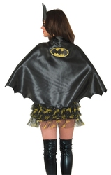 BATGIRL -  SPARKLE CAPE - ADULT