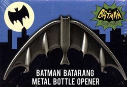 BATMAN -  1966 BATMAN  BATARANG METAL BOTTLE OPENER