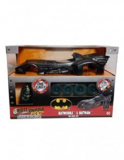 BATMAN -  1989 MOVIE BATMOBILE 1/24 WITH BATMAN FIGURE