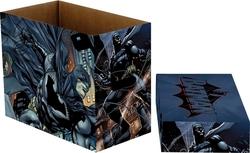 BATMAN -  200 COMICS CARDBOARD BOX