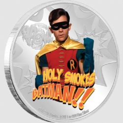 BATMAN -  BATMAN™ CLASSIC TV SERIES: ROBIN™ -  2020 NEW ZEALAND MINT COINS 02