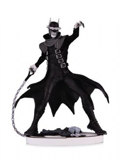 BATMAN -  BATMAN WHO LAUGHS 2ND EDITION STATUE (7INCHES) -  BLACK AND WHITE