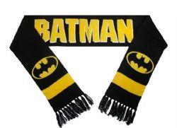 BATMAN -  BLACK SCARF