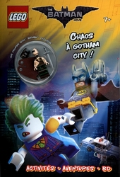 BATMAN -  CHAOS À GOTHAM CITY ! - AVEC UNE FIGURINE LEGO BATMAN EXCLUSIVE -  LEGO BATMAN : THE MOVIE
