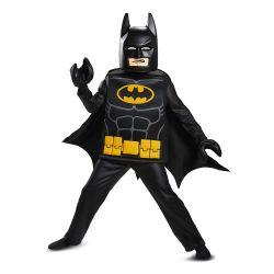BATMAN -  DELUXE BATMAN COSTUME FROM BATMAN LEGO MOVIE (CHILD)