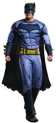 BATMAN -  GREY MUSCLE CHEST BATMAN COSTUME (ADULT) -  BATMAN VS SUPERMAN
