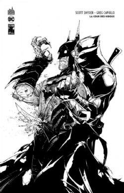 BATMAN -  LA COUR DES HIBOUX (EDITION N&B 80 ANS) -  BATMAN 80 ANS 01