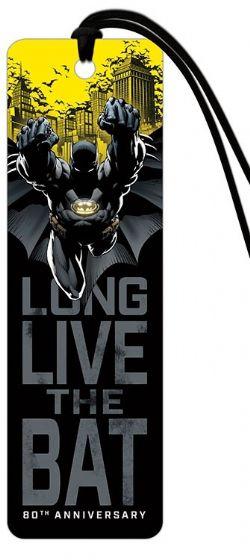 BATMAN -  LONG LIVE THE BAT -  BOOKMARK