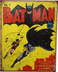 BATMAN -  METAL POSTER