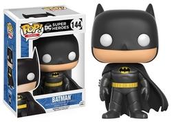 BATMAN -  POP! VINYL FIGURE OF CLASSIC BLACK BATMAN (4 INCH) 144
