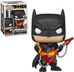 BATMAN -  POP! VINYL FIGURE OF DEATH METAL BATMAN (GUITAR SOLO) (4 INCH) 381