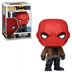 BATMAN -  POP! VINYL FIGURE OF RED HOOD JASON TODD (4 INCH) 372