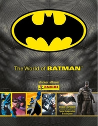 BATMAN -  STICKER ALBUM -  THE WORLD OF BATMAN