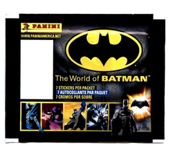 BATMAN -  STICKERS (P7/B50) -  THE WORLD OF BATMAN
