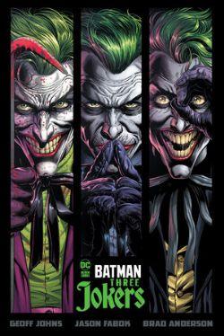BATMAN -  THREE JOKERS HC