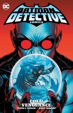 BATMAN -  USED BOOK - COLD VENGEANCE TP (ENGLISH) -  DETECTIVE COMICS 4