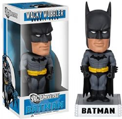 BATMAN -  USED WACKY WOBBLER BOBBLE-HEAD FIGURE OF BATMAN (7 1/2 INCH) -  DC UNIVERSE