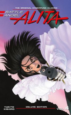 BATTLE ANGEL ALITA -  DELUXE EDITION HC (ENGLISH V.) 04