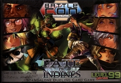 BATTLECON -  FATE OF INDINES - STANDALONE DUELING CARD GAME