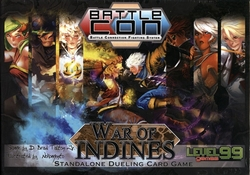 BATTLECON -  WAR OF INDINES - STANDALONE DUELING CARD GAME