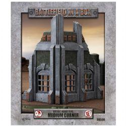 BATTLEFIELD IN A BOX -  MEDIUM CORNER -  GOTHIC INDUSTRIAL