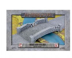 BATTLEFIELD IN A BOX -  RUINED BRIDGE -  WARTORN VILLAGE
