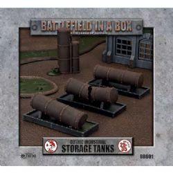 BATTLEFIELD IN A BOX -  STORAGE TANKS -  GOTHIC INDUSTRIAL