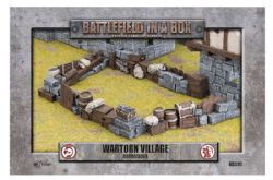 BATTLEFIELD IN A BOX -  WARTORN VILLAGE BARRICADES
