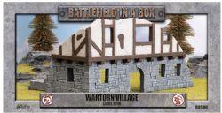 BATTLEFIELD IN A BOX -  WARTORN VILLAGE LARGE RUIN