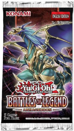 BATTLES OF LEGEND -  BOOSTER PACK (ENGLISH) (P5/B24) -  ARMAGEDDON
