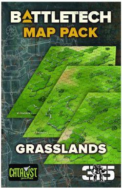 BATTLETECH -  BATTLEMAT - GRASSLANDS (22