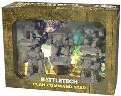 BATTLETECH -  CLAN COMMAND STAR (ENGLISH)