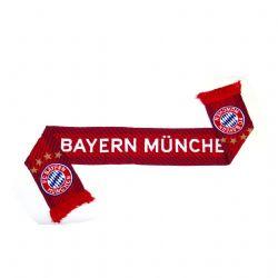 BAYERN MUNICH FC -  LOGO SCARF - RED