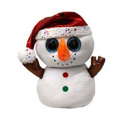 BEANIE BOO'S -  FLURRY THE SNOWMAN (18