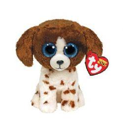BEANIE BOO'S -  MUDDLES BROWN AND WHITE DOG (10