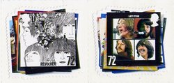 BEATLES, THE -  2007 THE BEATLES PAIR OF STAMPS