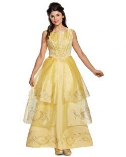 BEAUTY AND THE BEAST -  BELLE BALL GOWN (ADULT) -  DISNEY'S PRINCESSES