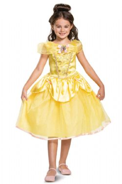 BEAUTY AND THE BEAST -  BELLE CLASSIC COSTUME (CHILD) -  PRINCESSES DISNEY